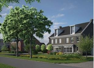 Artists impression woningen Dalem-Noord