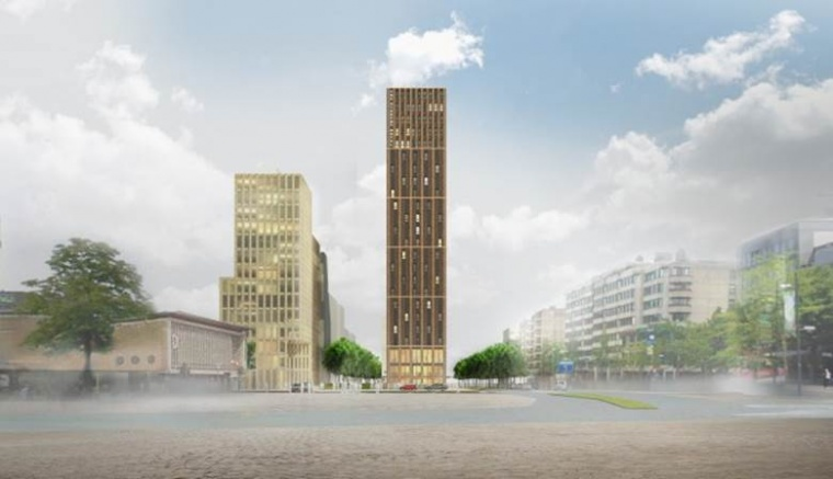 BAM start The Student Hotel in Eindhoven