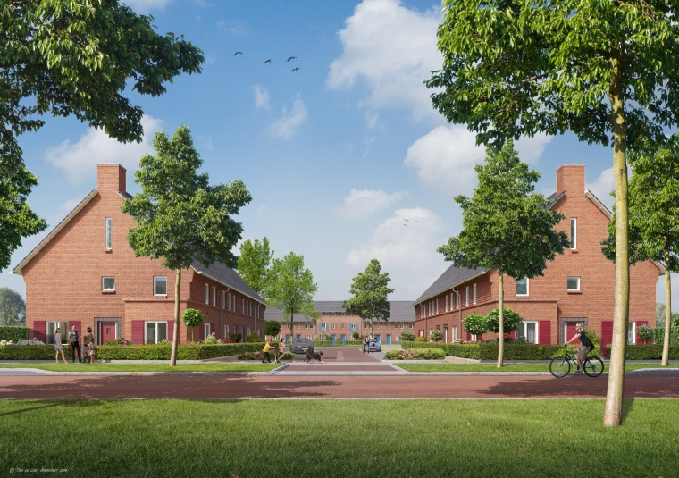 Artists impression Boelse Hof