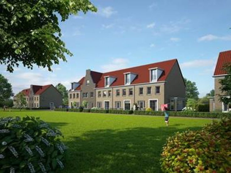 Artists impression woningen Breecamp in Stadshagen in Zwolle