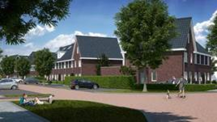 Artists impression Nieuw Rustburg in Oud-Beijerland