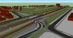 Artists impression Station Ede-Wageningen en omgeving